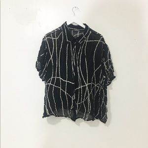 Vintage/ sheer blouse